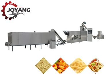 Single Screw Pasta Extruder Machine , Macaroni Machine Customized Power