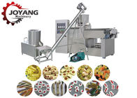 Single Screw Extruded Pet Food Line Luscious Dog Chews Production Low Noise