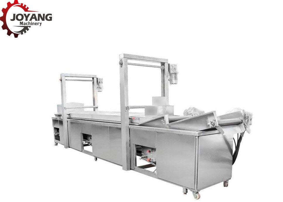 Easy Operation Automatic Potato Chips Making Machine 380V Smoke Free Design