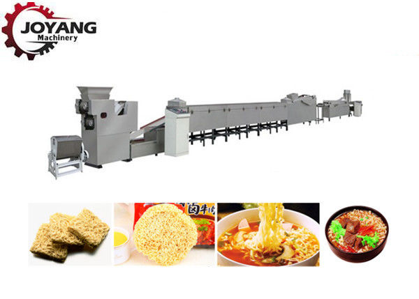 Automatic Fried Instant Noodle Making Machine 380V / 50Hz Voltage Labor Saving