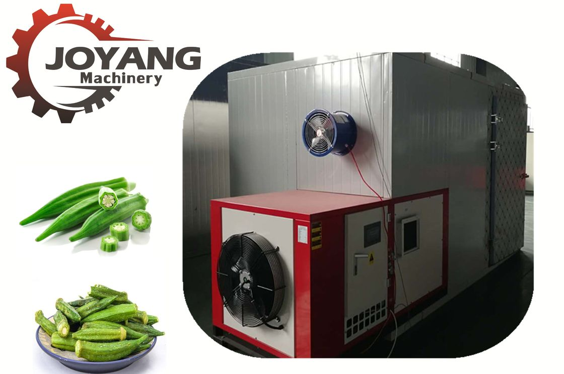 Customized Hot Air Dryer Machine Okra Drying Vegetable Heat Pump Dryer Equipment