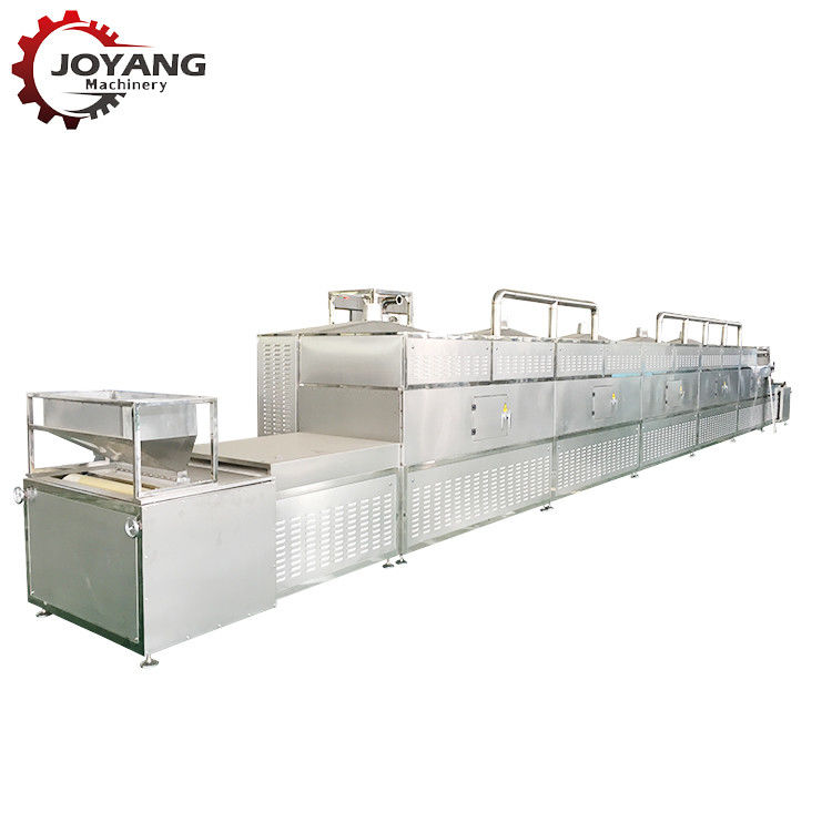 Pepper Powder High Product Microwave Drying And Sterilization Machine Low Noise